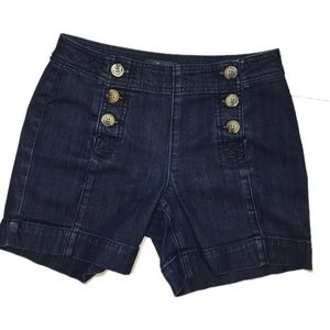 Level 99 button up sailor shorts sz 25